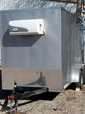 Portable Refrigerated Trailers For Sale San Antonio New